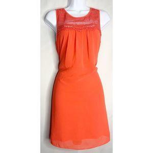 Bcx M melon mini dress